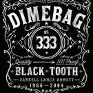 Pantera Dimebag Darrell Poster Flag Black Tooth Label Tapestry