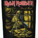 Iron Maiden Sew On Canvas Back Patch Piece Of Mind Logo