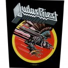 Judas Priest Sew On Canvas Back Patch Screaming For Vengeance Logo