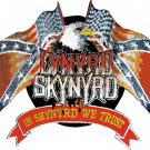 Lynyrd Skynyrd Iron-On Patch Eagle Flags Logo