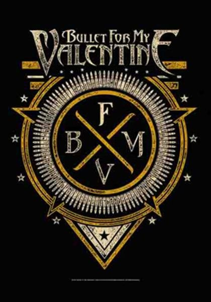 Bullet For My Valentine Poster Flag BFMV Emblem Tapestry