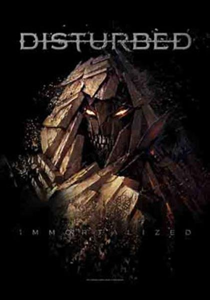 Disturbed Poster Flag Immortalized Tapestry