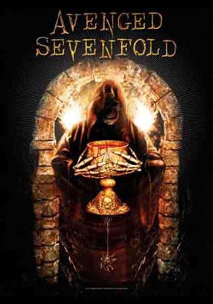 Avenged Sevenfold Poster Flag Golden Arch Tapestry
