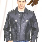 Black Bon Jovi Jacket - Durable Leather