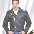 Classic Black Jacket - Soft Leather