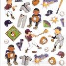 5 Baseball players, Pitcher, Catcher, batter, Gloves...