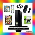 XBOX 360 Slim 4gb  Bundle w/ Kinect / Scene It / Xbox LIVE Gold Membership &More