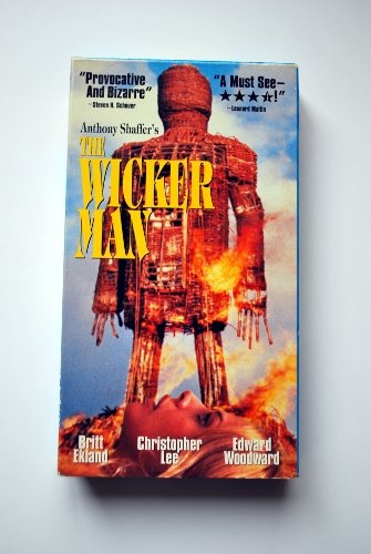 Movie, VHS, The Wicker Man, 1973