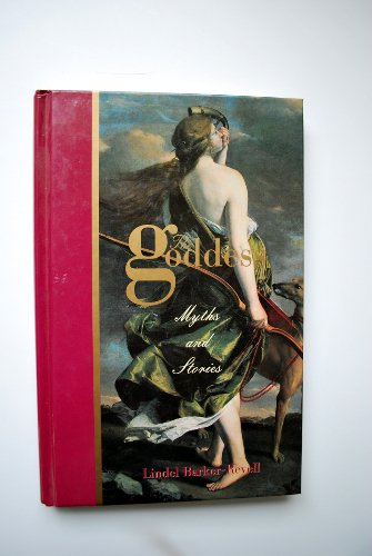 Book, The Goddess-Myths and Stories, Barker-Revell, 1997