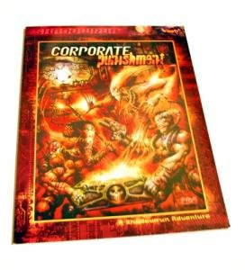 Book, Shadowrun Supplement 7330, Corporate Punishment