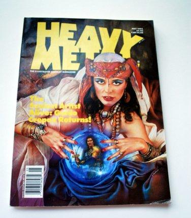 Magazine, Vintage, Heavy Metal, May 18, 1992