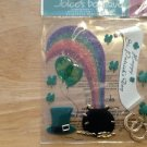 New Scrapbook Embellishment stickers St.Patricks day pot of gold $4.99