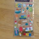 New Scrapbook Embellishment Sticker Icecream Cones Popsicle truck $2.99