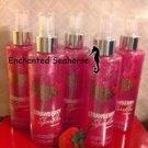 Lot of 5 Bath and Body Works Strawberry Sparkler Fragrance Shimmer Mist Sprays $59.99