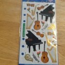 New Scrapbook Embellishment stickers Grand piano music $1.99