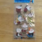 New Scrapbook Embellishment Stickers Snow White seven dwarfs $4.99