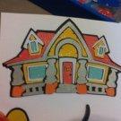 New Scrapbook Embellishment Mickeyouse House Disney Glitter $5