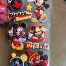 New Scrapbook Embellishment Sticker Disney Mickey Mouse Red Black Yellow $2.99