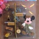 New Scrapbook Embellishment Sticker Disney Mickey Mouse  Jungle $3.99