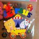 New Scrapbook Embellishment Sticker Circus Lion 3d $3.99