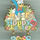 Hoppy Easter 2008 Walt Disneyland Donald Duck Cast Member Pin LE 500 $59.99