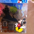 New Scrapbook Embellishment Sticker Mickey Mouse Haunted Graveyard Tombstone Ghost $3.99