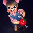 "Annalee Mobilitee Doll 6"" Fall Apple Cider Mouse $16.99"