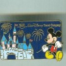 Walt Disney World Travel Company Limited Edition Pin Mickey Mouse & Castle $12.99