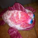 Pink Sparkly Plush Fish Puppet $8.99