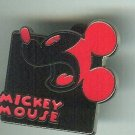 Walt Disney World Red Mickey Mouse Pin 2012 $6.99