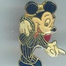 Vintage Walt Disney World Enamel Mickey Mouse Pin Rare $24.99