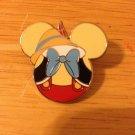 Authentic Pinocchio Mickey Head 2012 Disney Pin