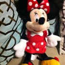 "Walt Disney Minnie Mouse Plush Stuffed Animal 17"" New With Tags."