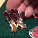 Authentic 2005 Chip and Dale Mickey Mouse Melting Ice Cream Bar Pin