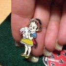 Authentic 2008 Snowwhite Baby Cutie with White Bunny Rabbit Disney Pin