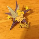Authentic 2005 Tink Purple Star Blowing a Kiss Disney Pin