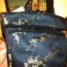 Lot of 3 Oriental Asian Cherry Blossom Make up Bags and Purse $19.99