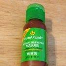 DermOrganic Intensive hair Repair masque 1oz. Argan Oil Rice keratin