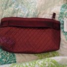New Cosmetic Bag Crimson Autmn Vinyl