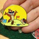 Authentic 2012 Chip and Dale Sun Fun Beach Sunglasses Buried Disney Pin