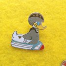 Rocket Ship Donald  Duck Disney Pin
