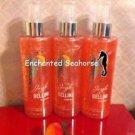 Lot of 3 Bath and Body Works Jingle Bellini Peach Fragrance Shimmer Mist Sprays $32.99