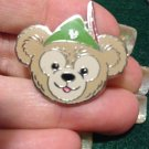 Authentic 2013 Duffy Bear Face Peter Pan Hat Disney Pin