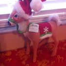 "Annalee Mobilitee Christmas  Doll Large 12"" Corduroy Reindeer New w/tags $39.99"