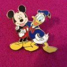Authentic Walt Disney World Mickey Mouse & Donald Duck Friends Forever 2008 Pin $7.99