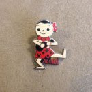Authentic Walt Disney Aloha Small World Girl Doll Pin $6.99