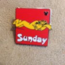 Authentic Walt Disney sunday Pluto Days of The Week Pin $4.99