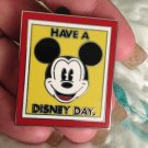 Walt Disney World Authentic Mickey Mouse Have a Disney Day Pin $19.99