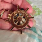 Walt Disney World Authentic Pirates of the Carribbean Flip Open Ship Wheel Pin $8.99