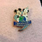 Authentic Disney World Mickey Minnie Mouse Energizer Happiest Place on Earth Pin $7.99